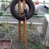 タイヤ打ち込み台を作ってみた