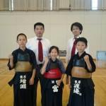 籠原剣友会から県大会強化選手に四人が選出