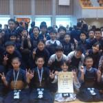 平成29年埼玉県剣道大会 小学生の部 熊谷Aチーム 準優勝